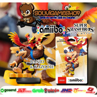 PROMO! Amiibo Super Smash Bros. Series Figure Banjo & Kazooie Original