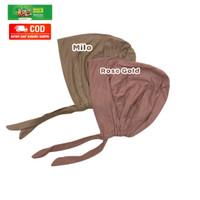Inner Basic Turki kaos Rayon Premium, Ciput Arab Tali,