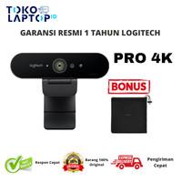 Logitech Brio Webcam 4K Ultra HD GARANSI RESMI BUKAN TOKO