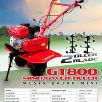 Mesin Traktor Sawah Bajak Mini Power Tiller Tiger GT800 GT 800 mc