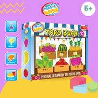 Magic Sand Toko Buah - Mainan Pasir Kinetik - Mainan Edukasi