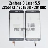 Original Touchscreen Asus Zenfone 3 Laser 5.5 ZC551KL Layar Sentuh