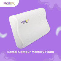 Bantal Contour Memory Foam Hiberlux