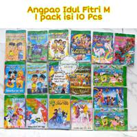 Amplop Angpao Karakter Lebaran / Idul Fitri Disney Dewasa Kartun
