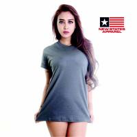 Kaos Polos Baju Oblong NSA Classic 3600 Pria Wanita Import Atasan