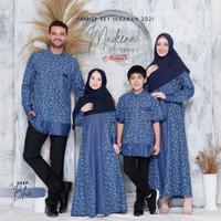 SARIMBIT KELUARGA MUSLIM - BAJU COUPLE LEBARAN - FAMILY SET LEBARAN