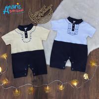 Amaris Romper Pendek Baby Newborn Edisi Lebaran 0-9 Bulan