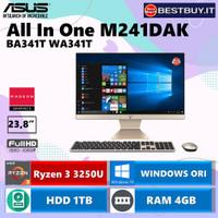 Asus AIO All In One PC M241DAK-BA341T R3 3250U 4GB 1TB 23,8 WIN10