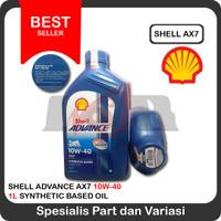 OLI Shell Advance AX7 4T 10W-40 (1 Liter)