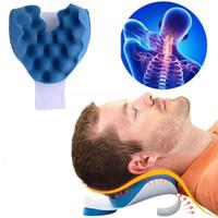 Taffware Bantal Relaksasi Terapi Leher Punggung Cervical