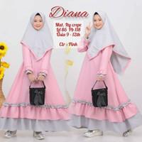 baju muslim anak perempuan 12 tahun