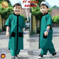 Stelan Koko Anak ARKHA Stelan Jubah anak Baju Koko Trendy Baju Lebaran