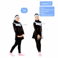 4-7 th baju renang anak TK muslIM baju renang anak wanita muslimah