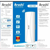 ANTENA TV DIGITAL ARASHI ADA 1001 INDOOR OUTDOOR BEST FOR LCD LED TV