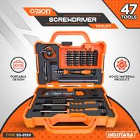 Obeng Set Teknisi HP, Komputer, Laptop - Toolkit Orion SS-8139