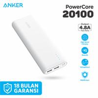 ORIGINAL Powerbank Anker Powercore 20100 mAh - A1271 - Putih