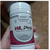 Obat Herbal Pelangsing Pria wanita Penurun Berat Badan WL Pro