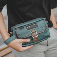 LITO GREEN  MNM x ARCIO  Tas Selempang Pria Sling Bag Pouch ORIGINAL
