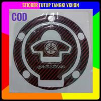 sticker tutup tangki Yamaha vixion