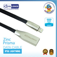 Kabel Data Excellence Zinc Prisma IP5G Lightning -1KUAIP5GZPE