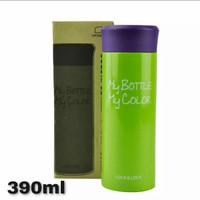 Lock & Lock Tumbler Water Bottle Vacuum Hot & Cool Colorful 390Ml