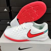 Sepatu Futsal Nike Tiempo Legend 8 Pro White Red ic-sepatu bola futsal