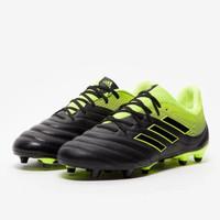 Sepatu Bola Adidas Copa 19.3 FG Black Yellow BB8090 Original