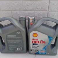 OLI SHELL HELIX HX8 5W-30 4 liter