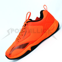 Sepatu Badminton Li-Ning / LiNing AYTQ085 Cloud Ace G8 Orange/Black