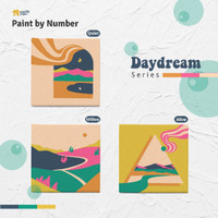 Kanvas Kit Paint by number studiOS art projects Tema Day Dream