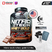 Muscletech Nitrotech Whey Gold 5.5lb Whey Protein Isolate Bstores