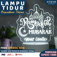 Lampu Tidur LED Akrilik LT2001 – Ramadhan Edition