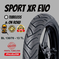Ban luar motor matic 130/70-13 FDR SPORT XR EVO tbls, GRATIS cop tbls