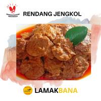 Rendang Jengkol Premium 250 gram Asli Pariaman Sumatera Barat