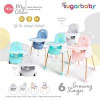 SUGAR BABY MY CHAIR BABY BOOSTER & HIGH CHAIR