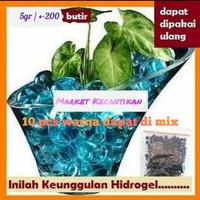 media tanam hias hidro gel hydro bola hidrogel ball hydrogel tanaman