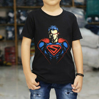 Baju Kaos Anak Laki Laki Distro SUPER HERO AVENGER Anak superman