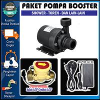 Paket Pompa Booster Shower Water Heater Toren Otomatis - submersible