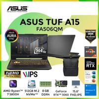 ASUS TUF FA506QM R736B6G-O Ryzen 7 5800H SSD 512GB RTX3060 6GB W10 OHS