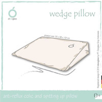 DOOGLEE Wedge Pillow 100% Natural Latex / Bantal Penopang Bayi
