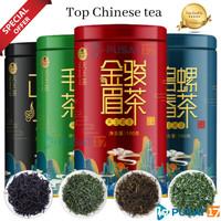CHINESE TEA TIAN WANG 100GRAM KALENG TEH CHINA HERBAL DAUN TEH HIJAU