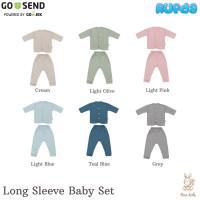 Nice Kids Long Sleeve Baby Set Piyama Panjang Celana Bayi Polos