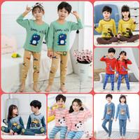 Setelan baju tidur anak -Baju piyama anak laki laki - perempuan 1-10th