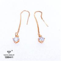 Anting Wanita Permata Perhiasan Lapis Emas 18k yaxiya jewelry 789