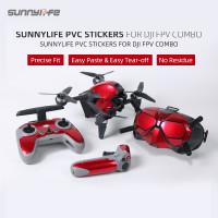 Sunnylife PVC Decal Sticker Protectoive Skin DJI FPV Combo Googles