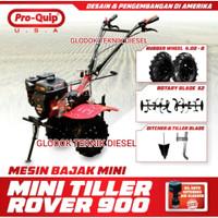MESIN BAJAK MINI / MINI TILLER / CULTIVATOR PROQUIP ROVER 900 TERBAIK