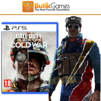 COD Call of Duty Black OPS Cold War PS5 (Tanpa Segel)