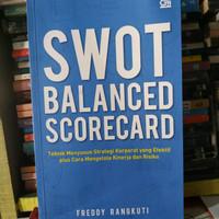 Original Buku SWOT Balance Scorecard - Freddy Rangkuti
