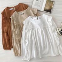 Baju Wanita Saka Blouse Fashion Wanita Lengan Panjang Murah Terbaru