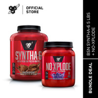 BSN Bundle SYNTHA-6 ISOLATE 4LB + NO XPLODE 60Serv